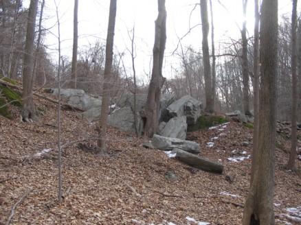 a nice rock outcropping