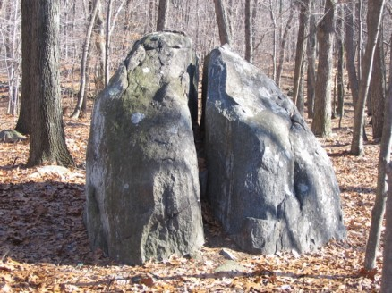 John E Hand Park fish rock