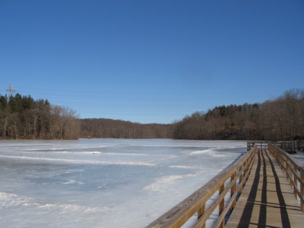 Teatown Lake boardwalk