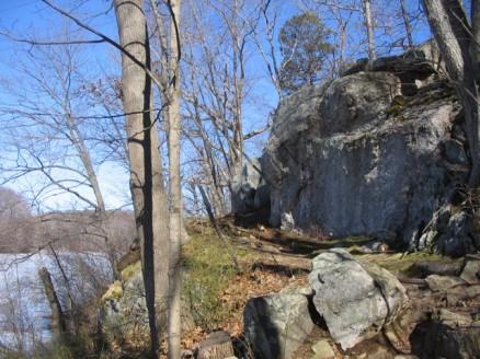 Nice rocks at Teatown Lake