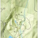 Clark Preserve trail map