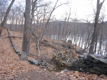 Kitchawan Preserve, view of Croton Reservoir