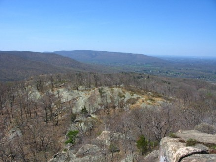 The view from the top of Storm King Mountain.