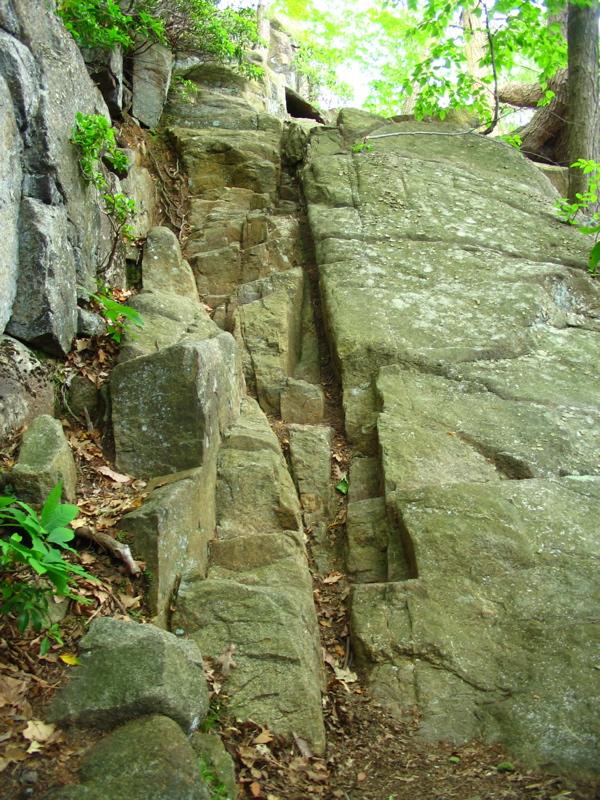 Seven Hills trail goes vertical