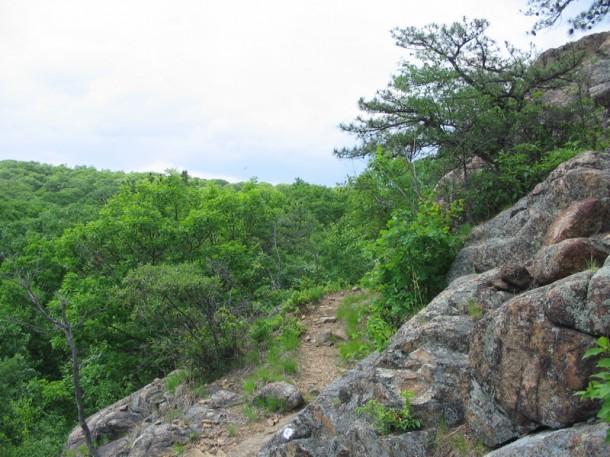 Seven Hills trail.